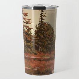 Grundy Lake Provincial Park Poster Travel Mug