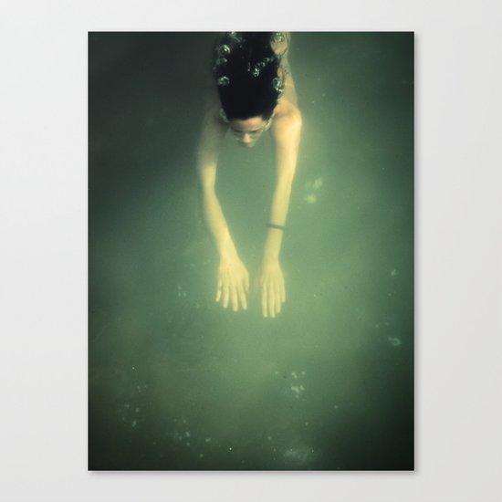 underwater I Canvas Print