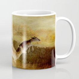 Fallow Deer Running Coffee Mug