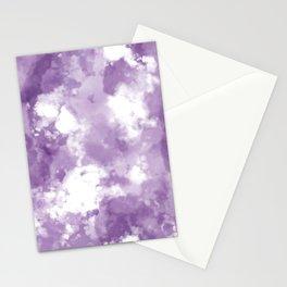 Plum Tie Dye  Stationery Cards