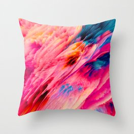 Shamanic Ecstasy Throw Pillow
