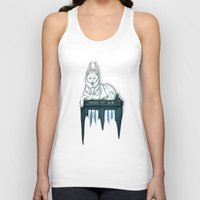 bad wolf Tank Tops featuring BAD WOLF by Emma Lindkvist