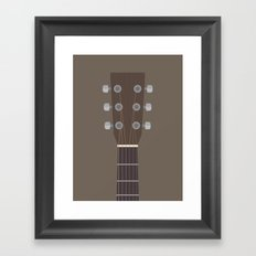 Guitar Heroes #4 - Neil Framed Art Print