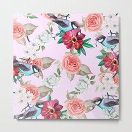 Rose Sparrow Metal Print