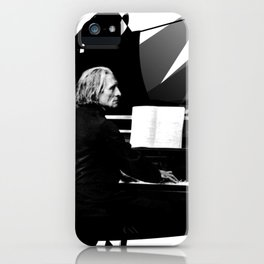 Franz Liszt - Piano King iPhone Case