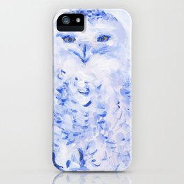 Insight: Snowy Owl iPhone Case