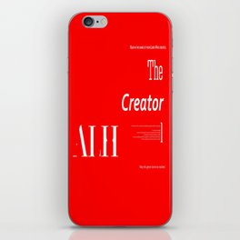 The Creator iPhone Skin