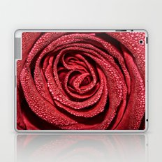 Raindrop Rose Laptop & iPad Skin