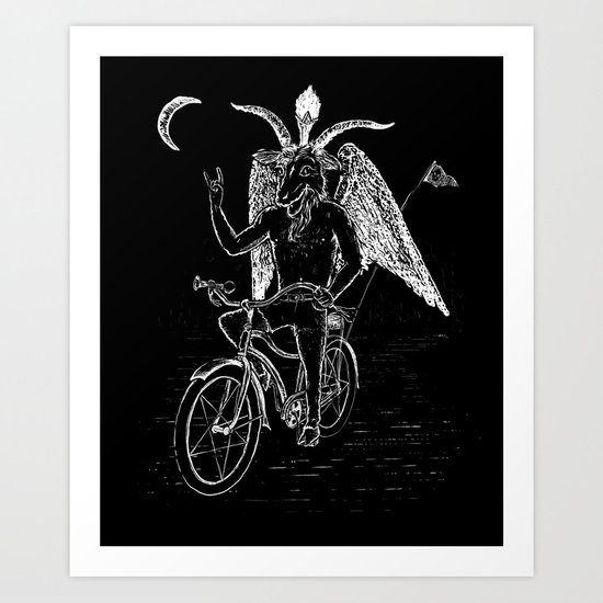 Hell Ride! Art Print