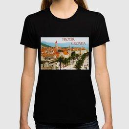 Cityscape of Trogir Croatia T-shirt