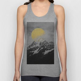 Moon dust mountains Unisex Tank Top
