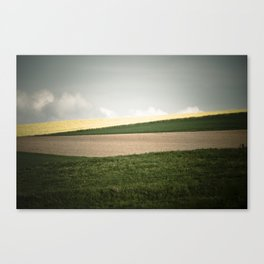 Color of the hills Canvas Print