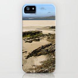 Luskentyre Beach iPhone Case