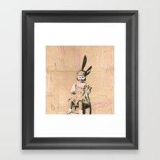 Imaginary Friends- Magician Framed Art Print