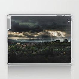 Beams of light over Florence Laptop & iPad Skin