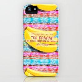 Top Banana iPhone Case