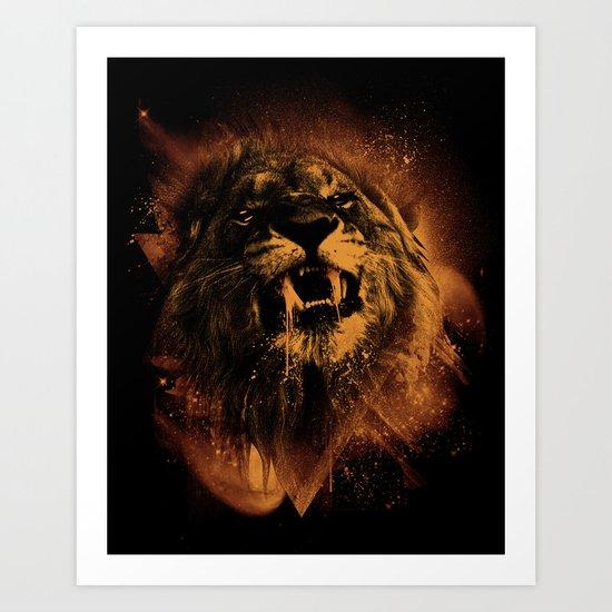 COSMIC KING Art Print