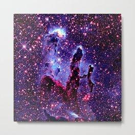 GaLaXY.  : Pillars of Creation Nebula Metal Print