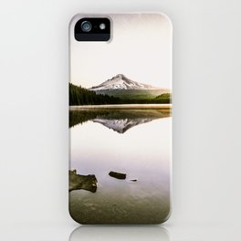 Fantastic Morning - Mount Hood Reflection iPhone Case