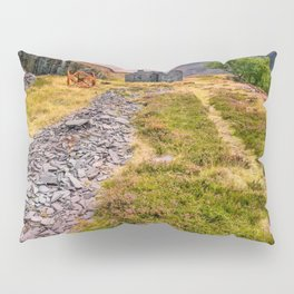 Quarry Sunset Snowdonia Pillow Sham