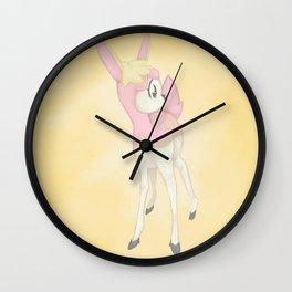 Deerling Wall Clock