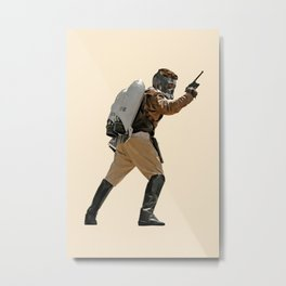 Rocket-Lord Metal Print