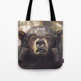 Armored Bear Companion Tote Bag