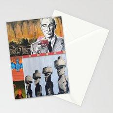 Oppenheimer's Deadly Tiki Toys Stationery Cards