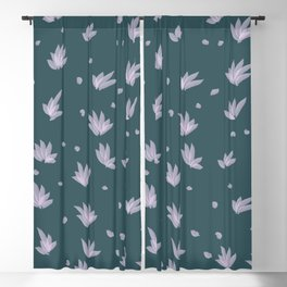 Flowers on the Lake Blackout Curtain
