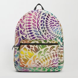 mandala18 Watercolor Mandala Backpack