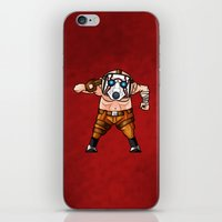 borderlands iPhone & iPod Skins featuring BORDERLANDS PSYCHO by DROIDMONKEY