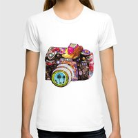 flowers T-shirts featuring Picture This by Bianca Green