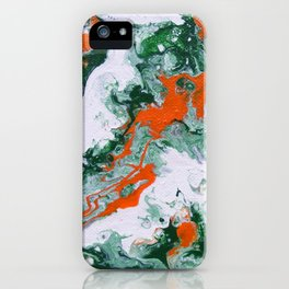 Carnival Squash Abstract iPhone Case
