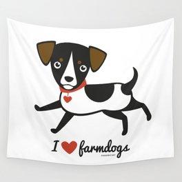I love farmdogs Wall Tapestry