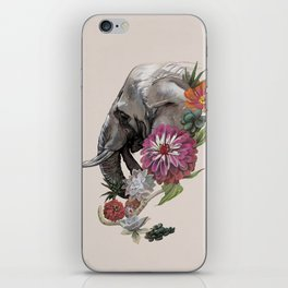 Elephant : Memory of Elephants iPhone Skin