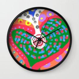 desire. allow. receive. accept. Wall Clock