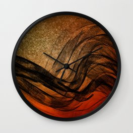 Relaxed Flow2 Wall Clock