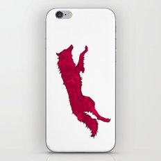 Neon Wolf iPhone & iPod Skin