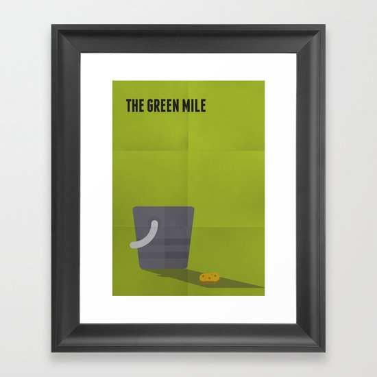 The Green Mile Minimalist Framed Art Print