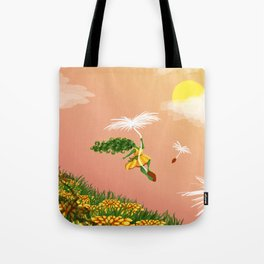 Dandelion Adventure Tote Bag