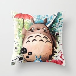 The Crossover Throw Pillow