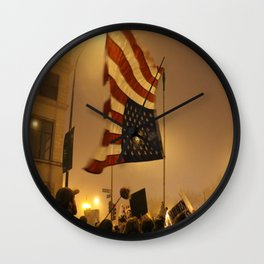 USA Wall Clock