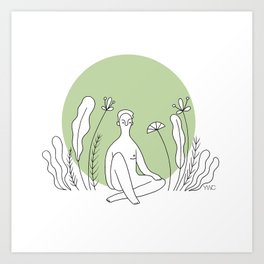 Natural Feeling Art Print