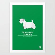 Sealyham Terrier Art Print