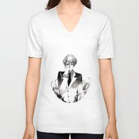 tokyo ghoul V-neck T-shirts featuring Tokyo Ghoul Ink by fruits
