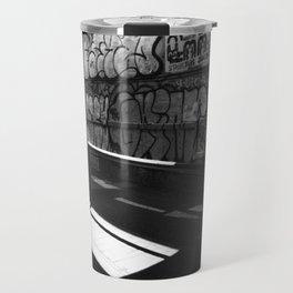 Graffiti In The Alleyways Travel Mug