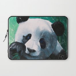 Panda - A little peckish - by LiliFlore Laptop Sleeve