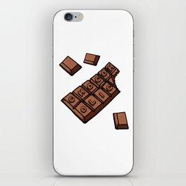 Chocoholic Illustration iPhone Skin