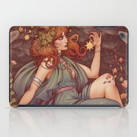 mucha iPad Cases featuring BOHEMIA by Medusa Dollmaker