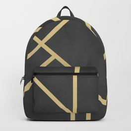 Art Deco decoration Backpack